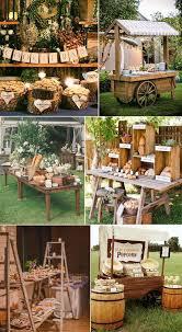 Backyard Wedding Food Ideas Best 25 Rustic Food Display Ideas On Pinterest Amazing Food