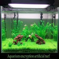 artificial lawn turf grass plants for aquarium decorations micro