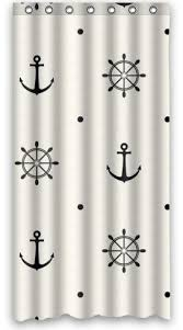 36 X 72 Shower Curtain 75 Best Nautical Room Ideas Images On Pinterest Anchors