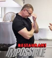 restaurant impossible chef robert designer cheryl and builder tom