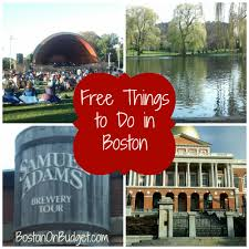 Boston City Map Tourist by Free Things To Do In Boston Boston On Budget