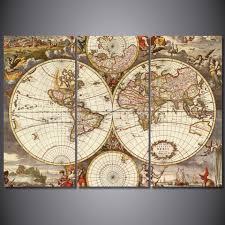 World Map Prints by Popular Vintage Framed Prints Buy Cheap Vintage Framed Prints Lots