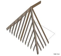 Hips Roof Irregular Hip Roof Rafters