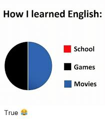 Memes In English - how i learned english school games movies true meme on me me