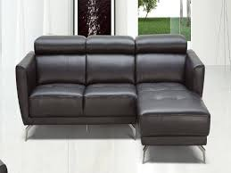 Black Leather Sectional Sofa Recliner Living Room Contemporary Leather Sofa Beautiful White