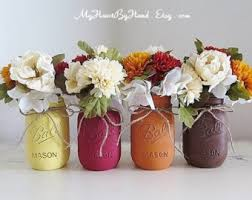 Fall Centerpieces Fall Mason Jars Fall Centerpieces Autumn Home Decor