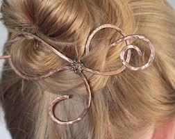 hair clasps thick hair etsy