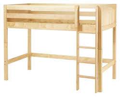 Free Plans For Wood Bunk Beds by Free Loft Bed With Desk Plans 1587