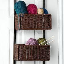 hanging storage baskets diy dawson over the door three tier basket
