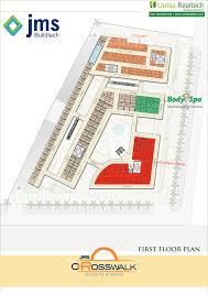 Retail Store Floor Plan Jms Crosswalk At Sector 93 Gurgaon U2013 Highstreet Retail