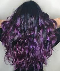 types of purple 40 versatile ideas of purple highlights for blonde brown and red in
