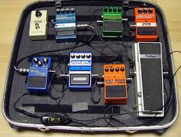 how to build a guitar pedal board using a suitcase