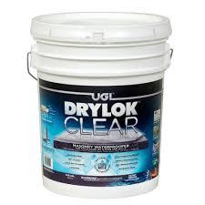Best Basement Wall Sealer by Behr Premium 5 Gal Basement And Masonry Waterproofing Paint 87505
