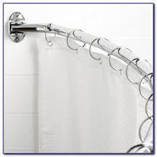Round Shower Curtain Rod For Corner Shower Round Shower Curtain Rod For Corner Shower Curtain Home Design