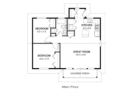 simple house floor plan measurements building plans