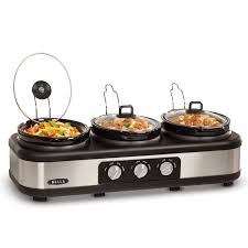 target black friday price buffet server amazon com bella triple slow cooker and buffet server 3 x1 5 qt