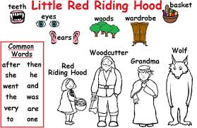 red riding hood glossary studenth teaching resources tes