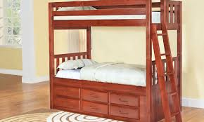 Bunk Bed Furniture Store Solid Pine Bunk Bed With Storage Haynes Furniture