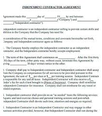 independent contractor agreement 11 subcontractor agreement