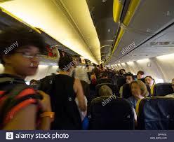 Airplane Interior Ryanair Airplane Interior Stock Photo Royalty Free Image