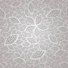 seamless vintage silver lace leaves wallpaper pattern royalty free