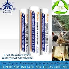flexible waterproof membrane basement waterproofing materials