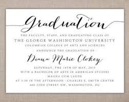 college invitations college graduation invitations etsy