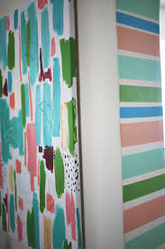 Washi Tape Wall Designs by Diy Stripe Doorway U2026 With Washi Tape U2013 A Beautiful Mess