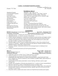 sample resume administrative assistant skills amitdhull co