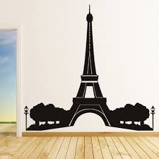 paris themed wall decals blake lively eiffel tower decal related