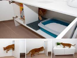 modern litter box cabinet modern multifunctional cat litter box furniture ikea purina cat