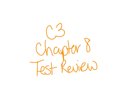 course 3 chapter 8 test review math showme