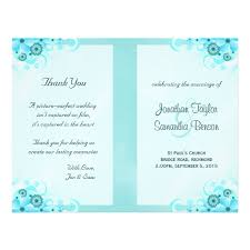 Create Wedding Programs Online Blue Hibiscus Floral Wedding Program Templates Flyer Wedding