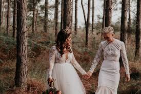 Whimsical Wedding Dress Love Is Love U201d Wild U0026 Whimsical Forest Wedding Inspiration
