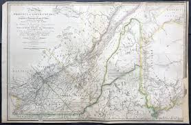 St Lawrence River Map 1839 James Wyld Large Antique Map Provinces Of Lower Canada St