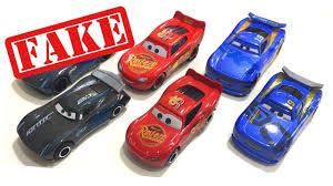 fake disney cars 3 toys lightning mcqueen jackson storm danny