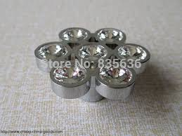 Clear Cabinet Knobs Shabby Chic Dresser Knobs Glass Drawer Knobs Pulls Handles