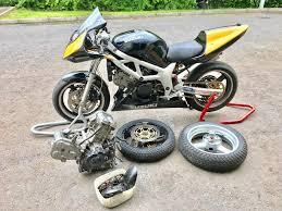 sv650 track bike in crossgar county down gumtree