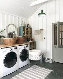 Decorating Ideas For Laundry Rooms 80 Small Farmhouse Laundry Room Decor Ideas Architespace