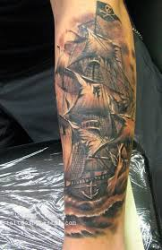 the 25 best pirate ship tattoo arm ideas on pinterest pirate