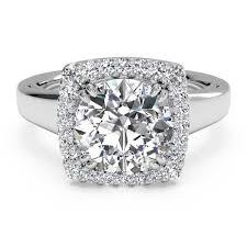 ritani engagement rings ritani cushion set halo white gold semi mount