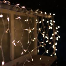 icicle lights white wire