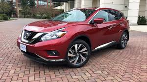 2017 nissan murano platinum black 2016 nissan murano platinum awd test drive review