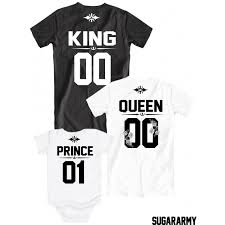 king and prince matching family t shirts sugararmy sugararmy