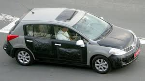 nissan tiida hatchback 2006 spy photos more nissan almera replacement
