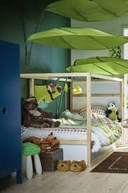 Ikea Canopy Bed Ikea Lova Bed Canopy Book Nook Pair Toddler Room Pinterest