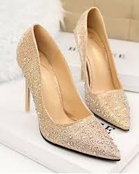 Wedding Shoes Jakarta Murah Online Get Cheap Silver Platform Wedding Shoes Aliexpress Com