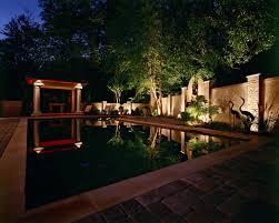 Custom Landscape Lighting by Custom Pool Lighting Outdoor Lighting Perspectives