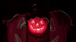 fiber optic jack o lantern w scarecrow video 9 2017 youtube