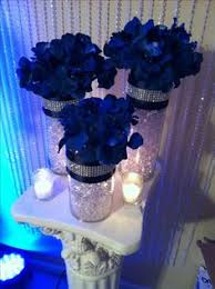 blue centerpieces my wedding royal blue centerpieces diy wedding